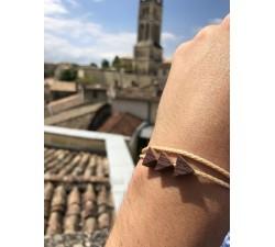 La Grappe - Bracelet classique BEIGE