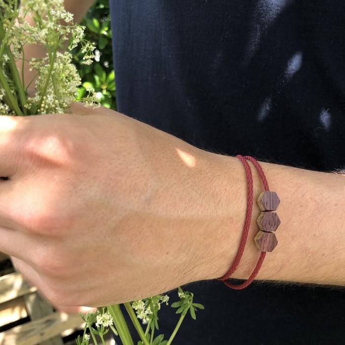 L'Hexagone - Bracelet vrillé