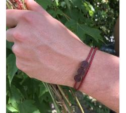 Les Berries - Bracelet vrillé ROUGE