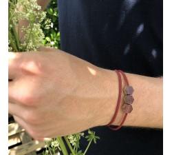 L'Hexagone - Bracelet classique ROUGE