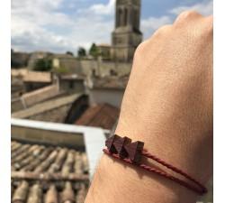 La Grappe - Bracelet vrillé