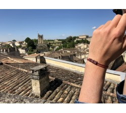 Le Barrel in Box -  Bracelet classique ROUGE