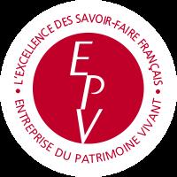 Logo EPV entreprise au patrimoine vivant